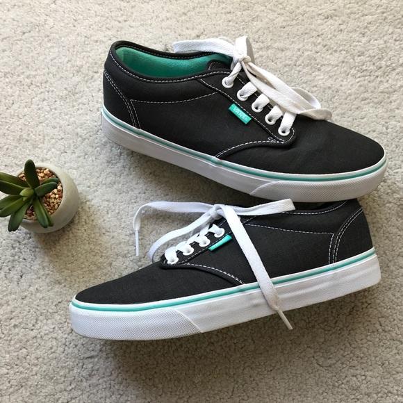 50a943ec5628 VANS dark gray   blue green size 8.5